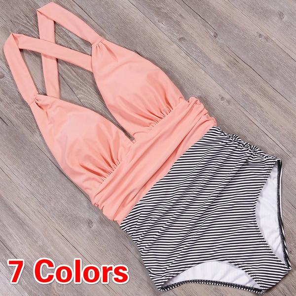 Women's Fashion, Deep V-Neck, Fashion, bikini set