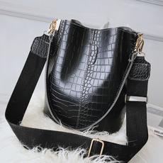 women's shoulder bags, retrobagforwomen, Capacity, causalbag