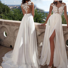 gowns, long skirt, Lace, Cocktail