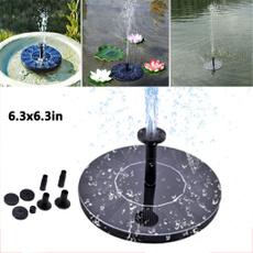 Fashion, solarfountainpump, Home Decor, fountainwaterpump