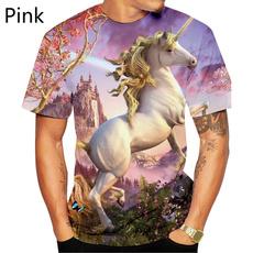 Shorts, Necks, roundnecktshirt, unicorntshirt