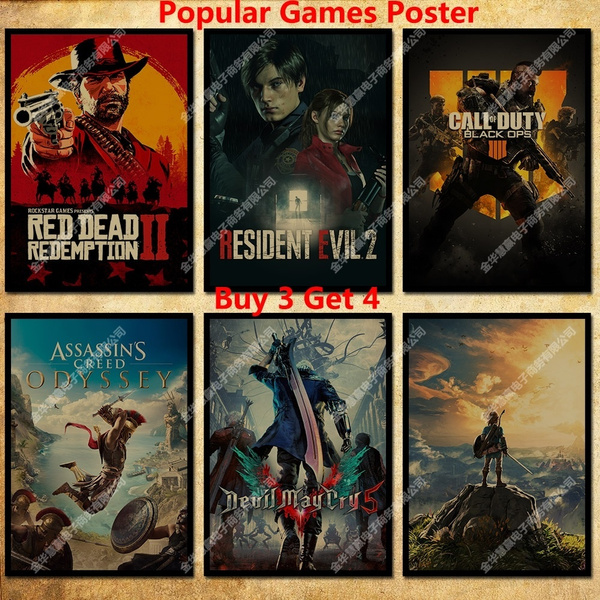 Video Games, movieposter, Posters, gameposter