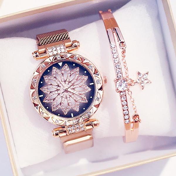 metalstrapwatch, quartz, Bracelet Watch, Watch