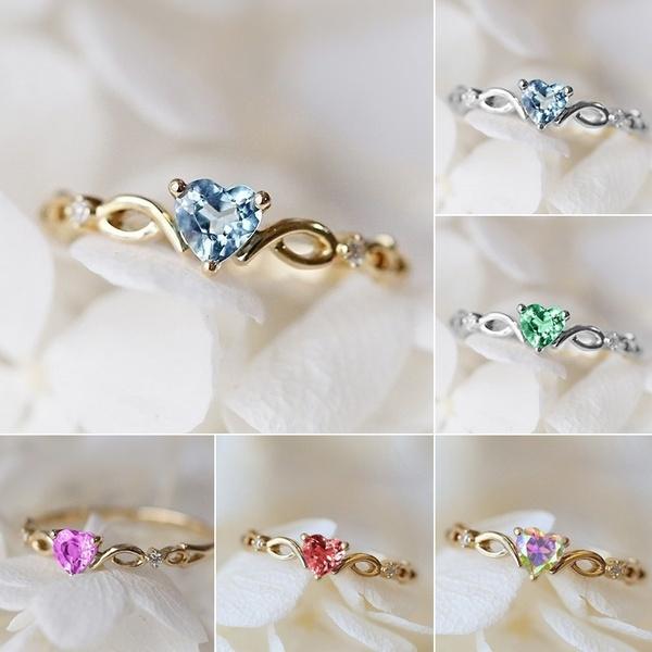 goldplated, Heart, DIAMOND, Jewelry
