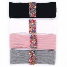 new2020womenhairband, ribbedcottonheadbandhairbandsforwomen, ribbonheadbandsblackheadbandsforwomen, Cotton