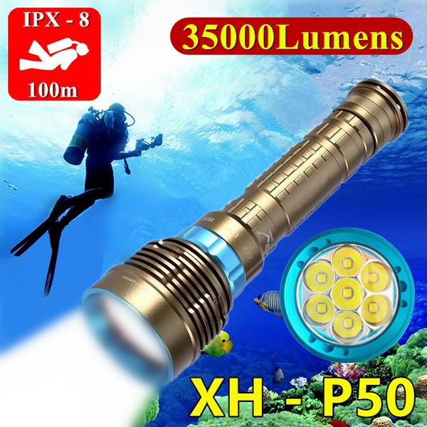 Flashlight, filllight, divinglight, Hunting