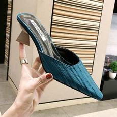 Summer, Fashion, Womens Shoes, highheelslipper