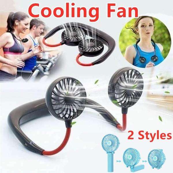 neckbandfan, Mini, airconditioningfan, Rechargeable