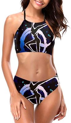 Halter, Bikini swimwear, bikinisethalter, Women's Fashion
