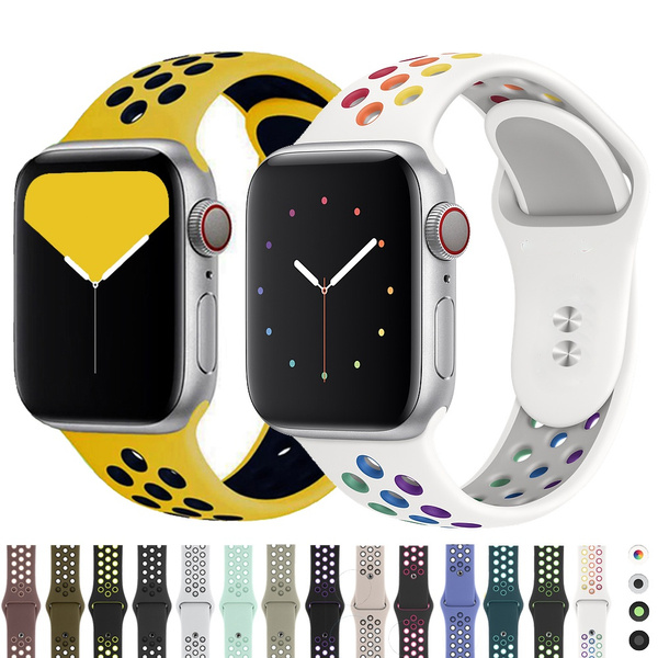 applewatchband44mm, applewatchstrap, Silicone, Watch