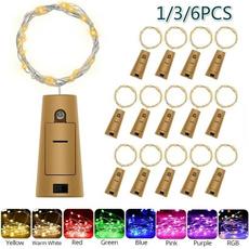 wirestringlamp, Copper, winestopper, led