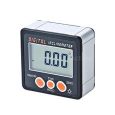 Mini, gaugemeter, anglefinder, digitalprotractor