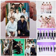 K-Pop, Decor, posters & prints, bts7thanniversaryfamilyportrait