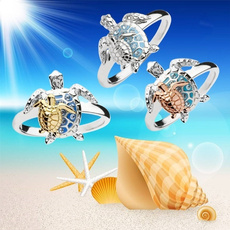 Turtle, Sterling, Fashion, Jewelry