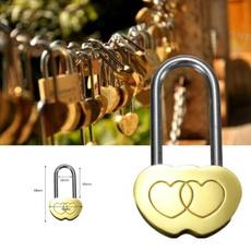 Brass, personalisedlock, Love, lovelock