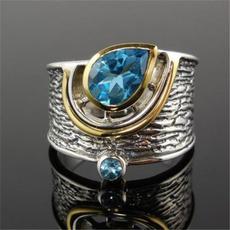bohoring, Blues, Fashion, 925 sterling silver