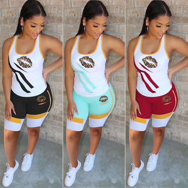 Summer, Vest, Fashion, womensset