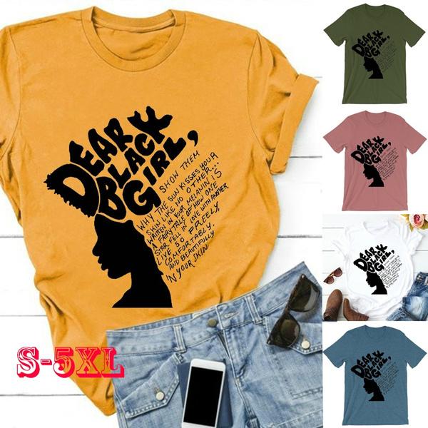 Plus Size, letter print, girltshirt, short sleeves