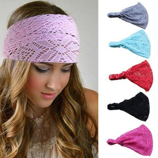 elasticheadband, hollowhairband, Fashion, widehairband