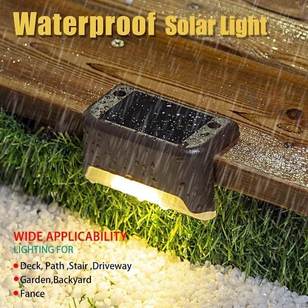Outdoor, Solar, stair, Waterproof