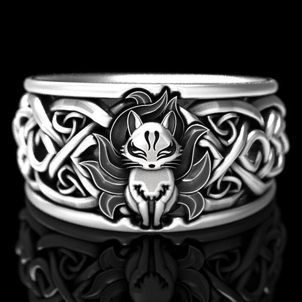 Sterling, cute, art, wedding ring