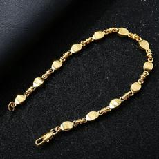 Charm Bracelet, 18k gold, Jewelry, gold