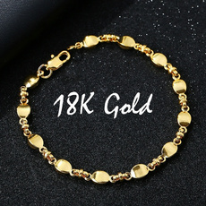 Charm Bracelet, 18k gold, Joyería, gold