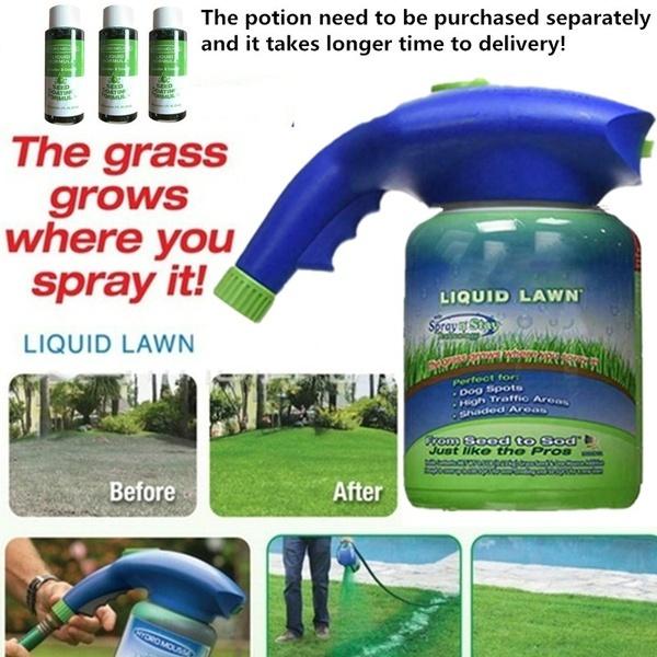 seedinggrowing, Gardening Supplies, Grass, liquidlawn