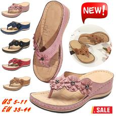 Summer, Flip Flops, Sandals, Ladies Fashion