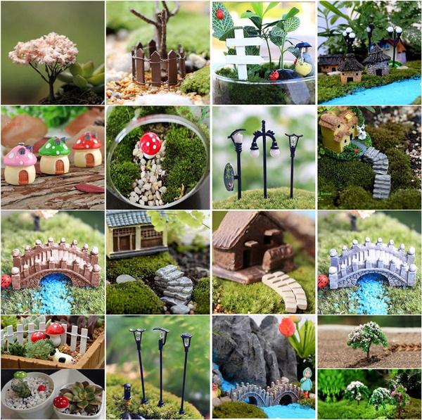 miniaturedecoration, miniaturegarden, Garden, Mini