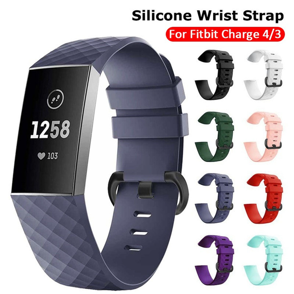 fitbitcharge4replacementband, fitbitcharge4strap, Silicone, Bracelet