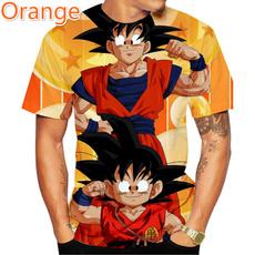 Summer, Fashion, roundnecktshirt, Personalized T-shirt