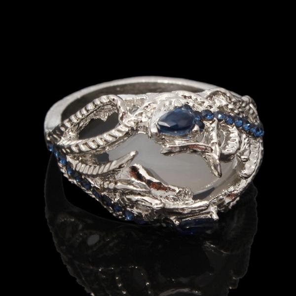 Women, crystal ring, wedding ring, Gifts