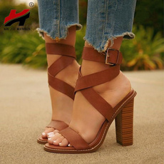 Summer, Sandals, Womens Shoes, brown