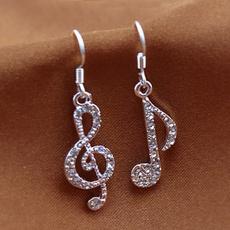 Dangle Earring, Jewelry, Crystal, Dress