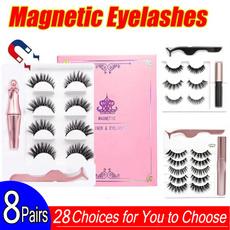 Eyelashes, 5magneticeyelashe, Makeup, eye