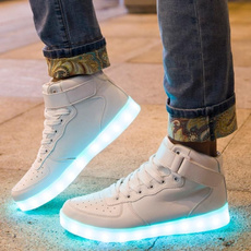 hightopsneaker, Sneakers, led, usb