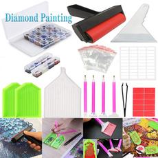 Craft Supplies, diamondart, diamondpaintingkitsforadult, led