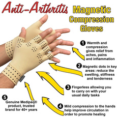 magneticarthritisglove, magneticcompressionglove, pain, Moisturizing Gloves