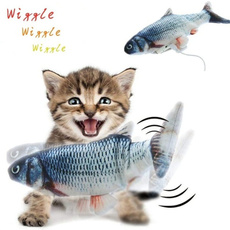 Funny, cattoy, electricfish, dancingfish