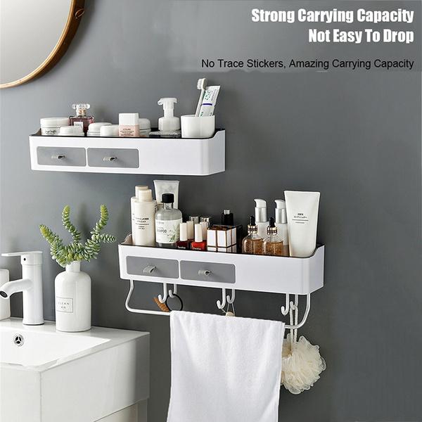 Plastic Bathroom Shelves Wall Mounted, Plastic Shelves For Bathroom