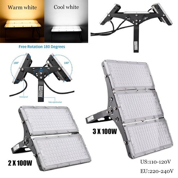 100wfloodlight, led, Waterproof, Gardening Supplies