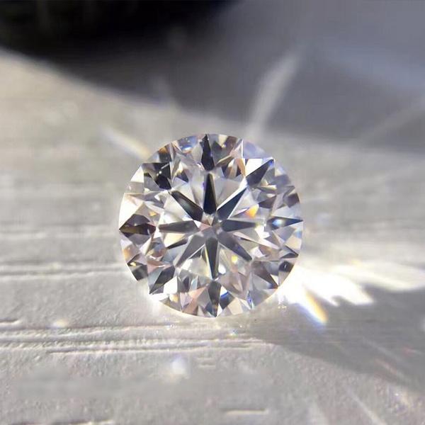 8MM, moissaniteloosestone, Jewelry, diamondmoissanite