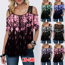 blouse, Summer, Plus Size, Tops & Blouses