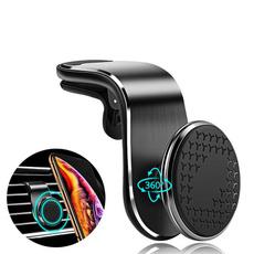 Phone, Holder, Magnetic, Metal