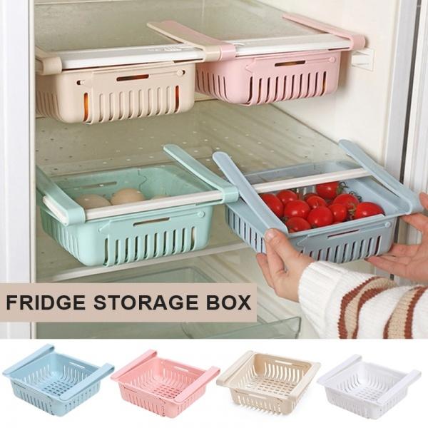 Box, Kitchen & Dining, fruitsorganizerholder, refrigeratorstoragebasket