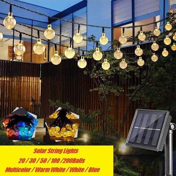 solarpoweredgadget, Garden, fairylight, solarstringlight