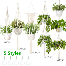 Plants, macrame, art, Home Decor