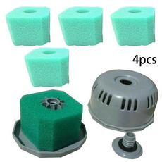 washable, 4 PC, hottubspa, spongefilter