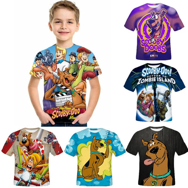 scoobydootshirt, Summer, childrentshirt, Shirt